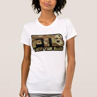 Kan beställnings- Camo flickor T-shirts