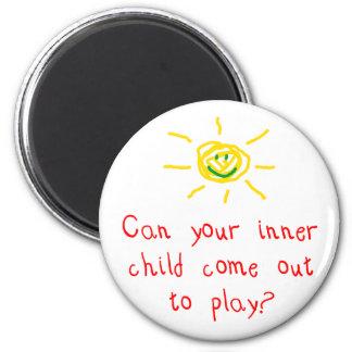 Kan ditt inre barn komma ut att leka magnet