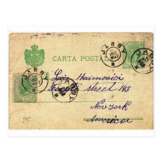 Kan du dechiffrera denna vintagehandstil? vykort