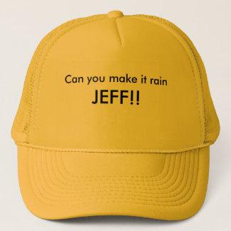 Kan du göra det att regna, JEFF!! Truckerkeps