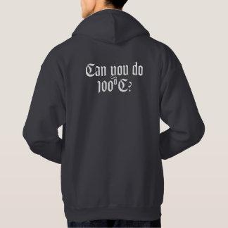 Kan du göra tillbaka T-tröja 100ºC/hoodien Sweatshirt Med Luva