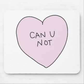 Kan hjärta för U inte Mus Matta