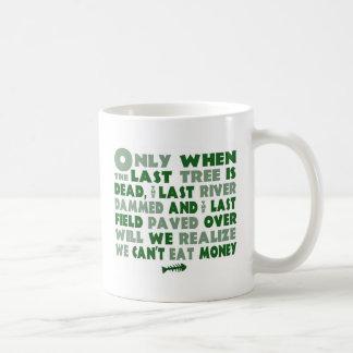 Kan inte äta pengar kaffemugg