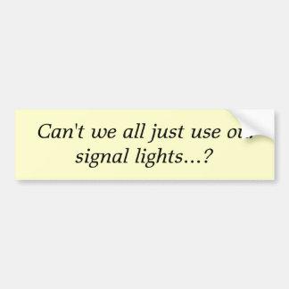 Kan inte oss allt rättvist använder vårt signalera bildekal