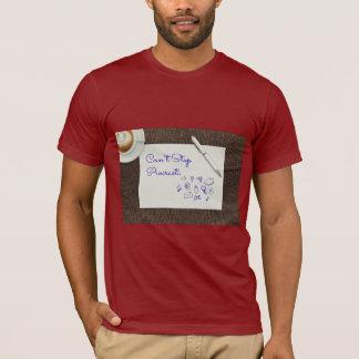 Kan inte stoppa den Procrasti (procrastinating) Tshirts