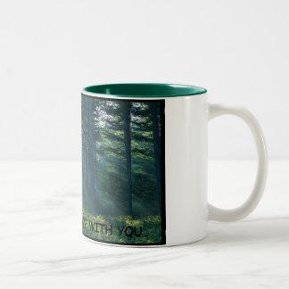 kan skogen vara med dig - parodin Två-Tonad mugg