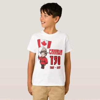 Kanada 150 år årsdag t shirts