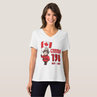 Kanada 150 år årsdag tee shirts