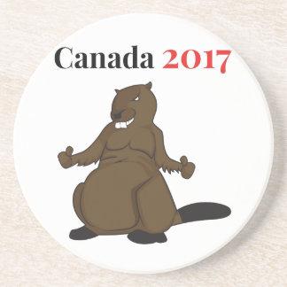 Kanada 150 i bäver 2017 underlägg sandsten