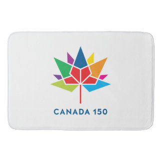 Kanada 150 officielllogotyp - multifärgad badrumsmatta