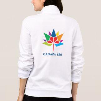 Kanada 150 officielllogotyp - multifärgad jacka