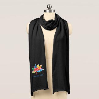 Kanada 150 officielllogotyp - multifärgad sjal