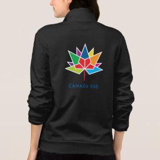 Kanada 150 officielllogotyp - multifärgad tryck på jackor