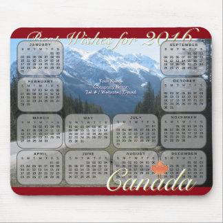 Kanada 2016 kalender musmatta
