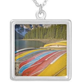 Kanada Alberta, Banff nationalpark, Moraine Silverpläterat Halsband