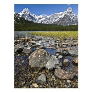 Kanada Alberta, rocky mountains, Banff medborgare Vykort