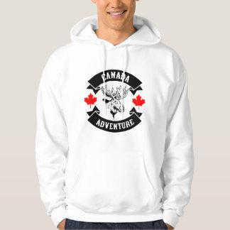 Kanada äventyr sweatshirt med luva