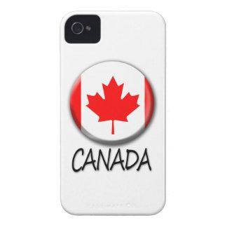 Kanada blackberry boldfodral iPhone 4 Case-Mate fodraler