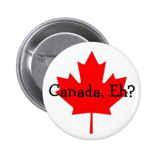 Kanada Eh? knäppas Standard Knapp Rund 5.7 Cm