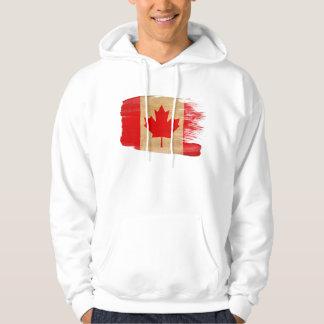 Kanada flaggaHoodie Tröja Med Luva
