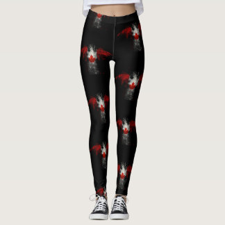 KANADA FLAGGAÖRN LEGGINGS