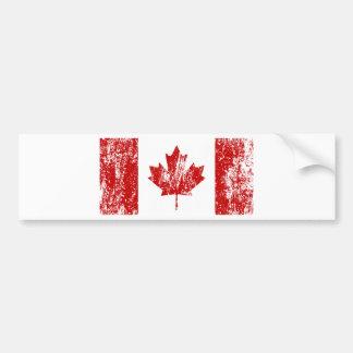 Kanada flaggapride bildekal