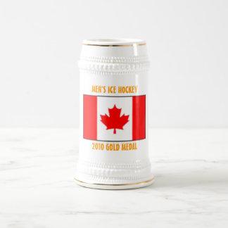 Kanada manar ishockey - guldmedalj 2010 sejdel