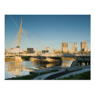 KANADA Manitoba, Winnipeg: EsplanadeRiel Vykort