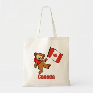 Kanada nalle tygkasse