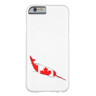 Kanada Narwhal Barely There iPhone 6 Skal