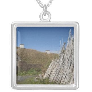 Kanada, Newfoundland och Labrador, L'Anse hjälp2 Silverpläterat Halsband