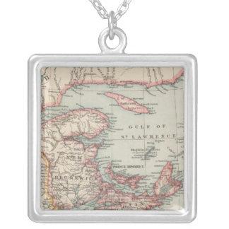 Kanada östra silverpläterat halsband