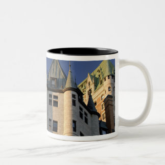 Kanada Quebec, Quebec City. Fairmont Chateau Två-Tonad Mugg