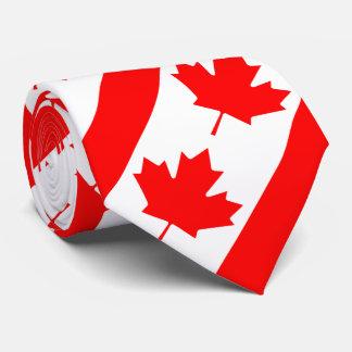 Kanada röd lönnlöv slips