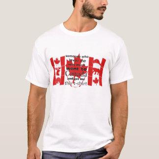 Kanada souvenirT-tröja T-shirts