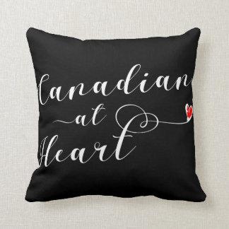 Kanadensare på hjärtakast dämpar, Kanada Kudde