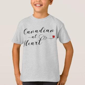 Kanadensare på hjärtautslagsplatsskjortan, Kanada Tshirts