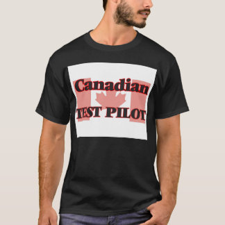 Kanadensare testar pilot- t-shirts