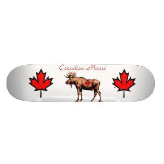 Kanadensisk älg mini skateboard bräda 18,5 cm
