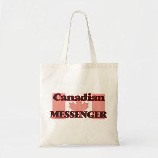 Kanadensisk budbärare budget tygkasse