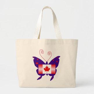 Kanadensisk Divafjäril Tote Bag