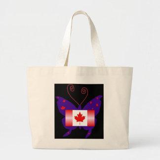 Kanadensisk Divafjäril Tygkasse