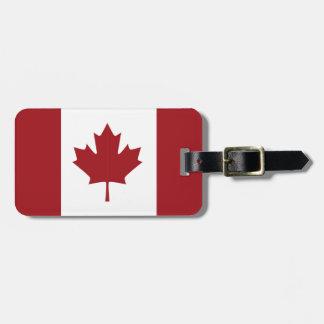 Kanadensisk flagga bagagebricka