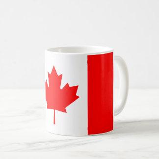 Kanadensisk flagga kaffemugg