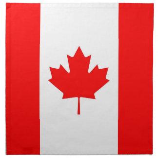 Kanadensisk flagga på den MoJo servetten Näsduk