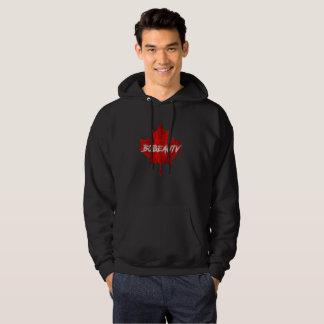 Kanadensisk flaggaformgivareHoodie Sweatshirt