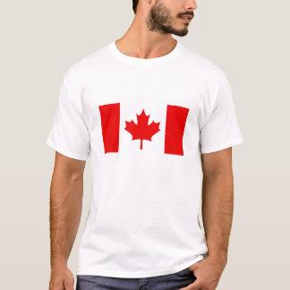 KANADENSISK FLAGGAT-tröja Tee