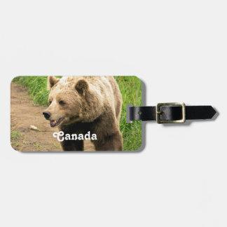 Kanadensisk Grizzly Bagagebricka