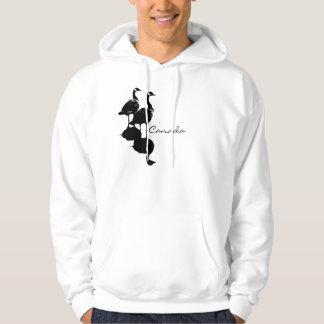 Kanadensisk Hooded sweatshirts för Kanada Munkjacka