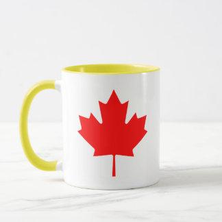 Kanadensisk lönnlöv mugg